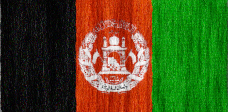 Afghanistan flag - large - style 2