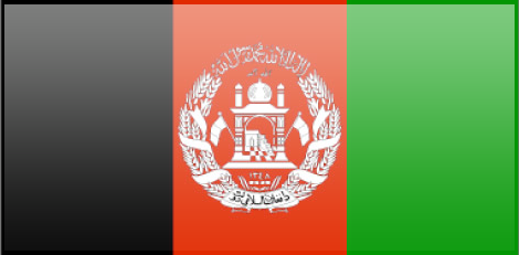 Afghanistan flag - large - style 3