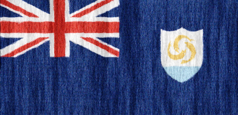 Anguilla flag - large - style 2