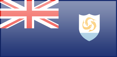Anguilla flag - large - style 3