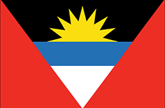 Antigua and Barbuda flag - medium - style 1