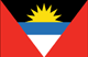 Antigua and Barbuda flag - small - style 1