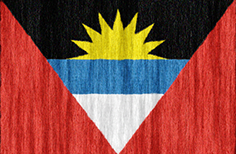 Antigua and Barbuda flag - medium - style 2