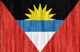 Antigua and Barbuda flag - small - style 2