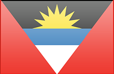 Antigua and Barbuda flag - medium - style 3