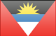 Antigua and Barbuda flag - small - style 3