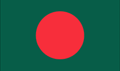 Bangladesh flag - medium - style 1