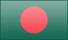 Bangladesh flag - medium - style 3