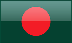 Bangladesh flag - medium - style 4