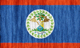 Belize flag - small - style 2