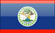 Belize flag - small - style 4