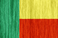 Benin free flag (medium)
