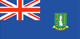 British Virgin Islands flag - small - style 1