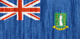 British Virgin Islands flag - small - style 2