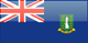 British Virgin Islands flag - small - style 4