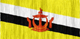 Brunei flag - small - style 2
