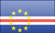 Cape Verde flag - small - style 3