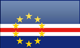 Cape Verde flag - small - style 4