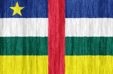 Central African Republic flag - large - style 2