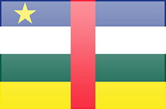 Central African Republic flag - medium - style 3