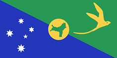 Christmas Island flag - medium - style 1