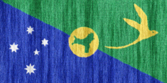 Christmas Island flag - medium - style 2