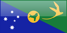 Christmas Island flag - medium - style 4