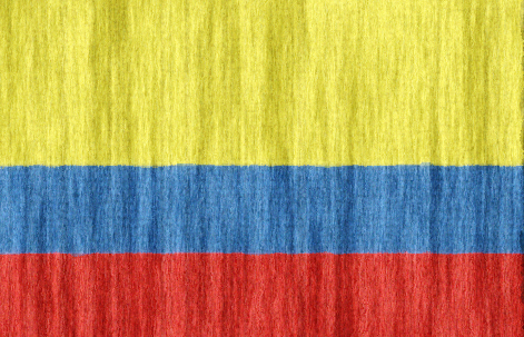 Colombia flag - large - style 2
