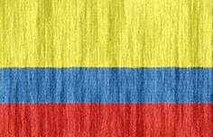 Colombia flag - medium - style 2
