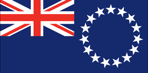 Cook Islands flag - large - style 1
