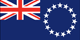 Cook Islands flag - small - style 1