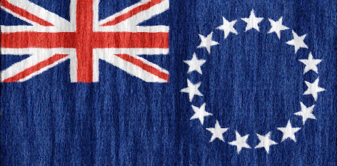 Cook Islands flag - large - style 2