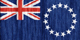 Cook Islands flag - small - style 2