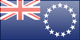 Cook Islands flag - small - style 3