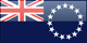 Cook Islands flag - small - style 4
