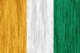 Cote d'Ivoire flag - small - style 2