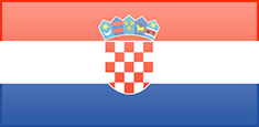 Croatia flag - medium - style 3