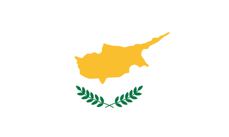 Cyprus flag - large - style 1