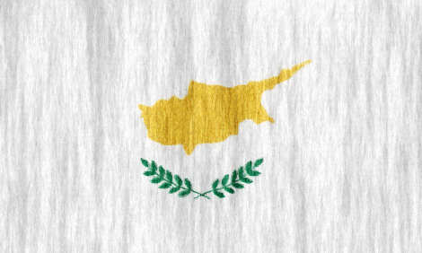 Cyprus flag - large - style 2
