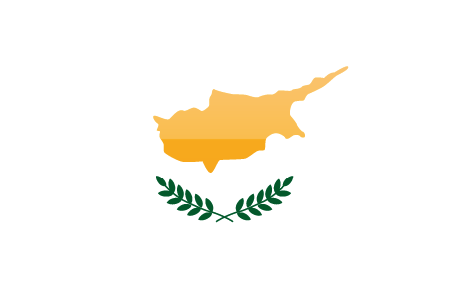Cyprus flag - large - style 4