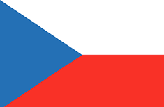 Czech Republic flag - medium - style 1