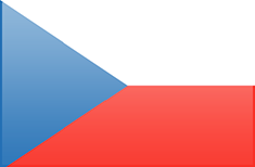 Czech Republic flag - medium - style 3