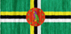 Dominica flag - small - style 2