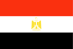 Egypt flag - medium - style 1