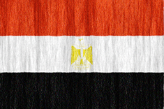 Egypt flag - medium - style 2