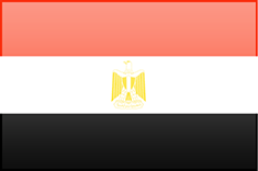 Egypt flag - medium - style 3