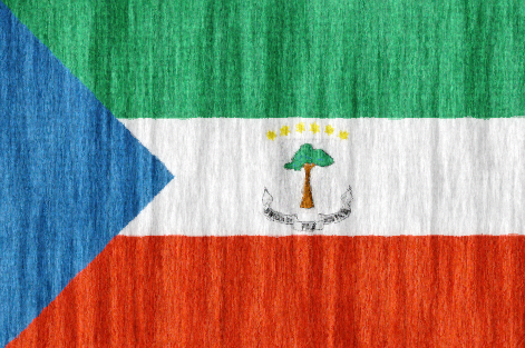 Equatorial Guinea free flag (large)
