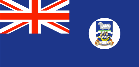 Falkland Islands flag - large - style 1