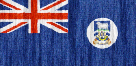 Falkland Islands flag - large - style 2