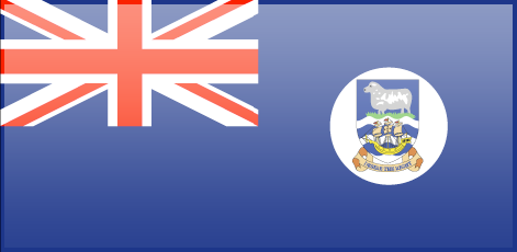 Falkland Islands flag - large - style 3